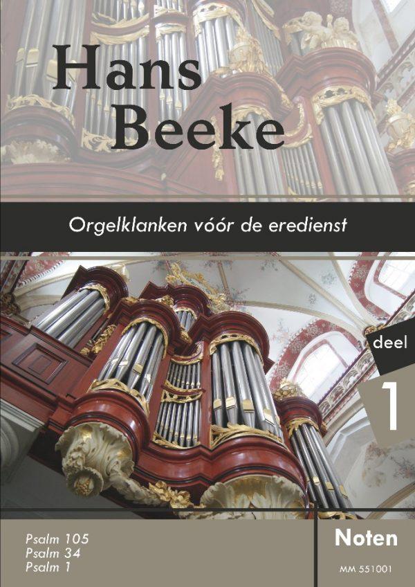 Hans Beeke | Orgelklanken voor de eredienst - deel 1 - noten