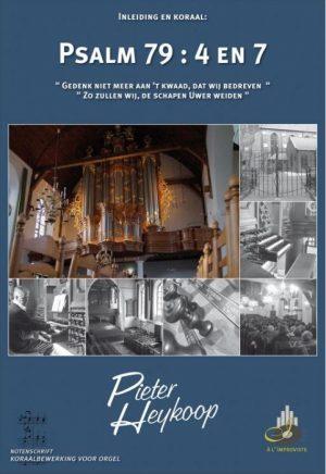 Pieter Heykoop | Psalm 79 vers 4 en 7 - noten