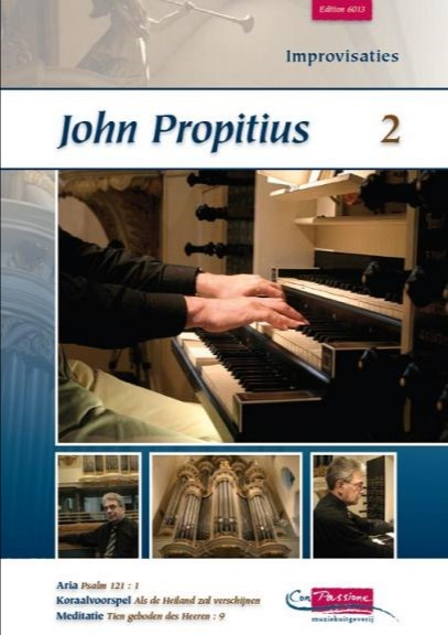 John Propitius | Improvisaties (deel 2) - klavar