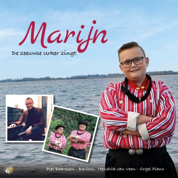 Marijn, de Zeeuwse Urker zingt