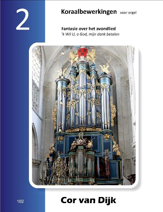 Cor van Dijk | Koraalbewerkingen voor orgel (deel 2) - noten