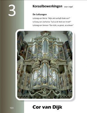 Cor van Dijk | Koraalbewerkingen voor orgel (deel 3) - noten