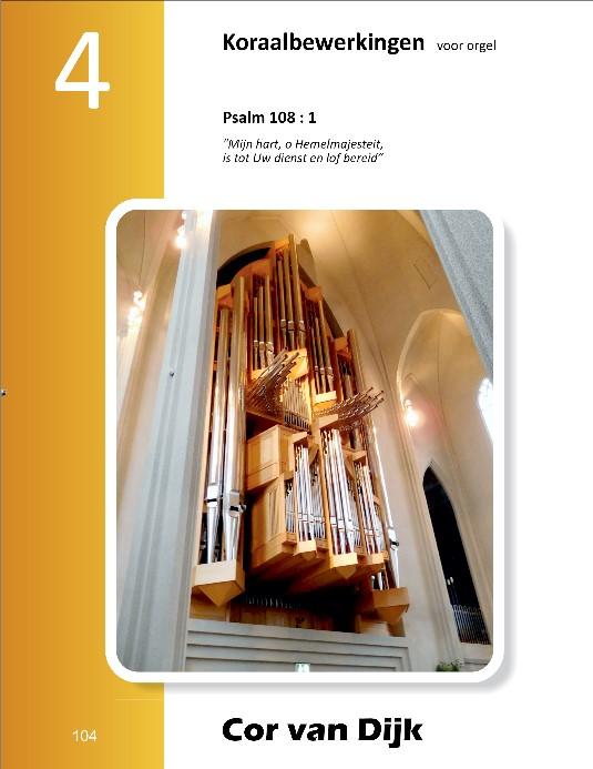 Cor van Dijk | Koraalbewerkingen voor orgel (deel 4) - noten