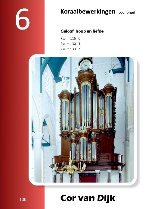 Cor van Dijk   Koraalbewerkingen voor orgel (deel 6) - noten