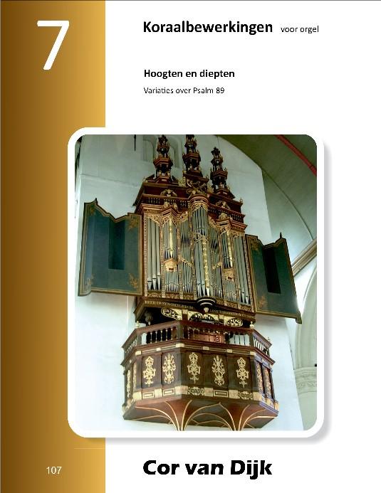Cor van Dijk | Koraalbewerkingen voor orgel (deel 7) - noten