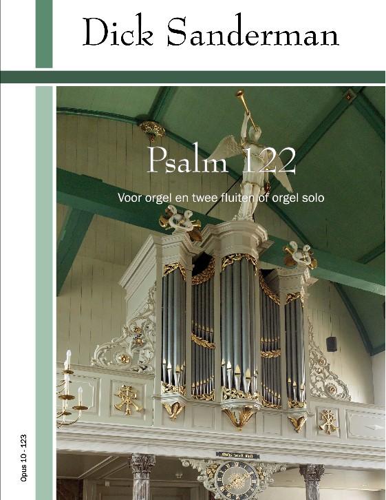 Dick Sanderman - Psalm 122 - noten