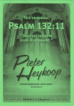 Pieter Heykoop   Psalm 132 vers 11 - noten
