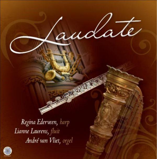 Laudate | Geliefde geestelijke liederen - harp, fluit en orgel