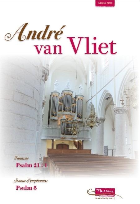 André van Vliet | Twee Psalmbewerkingen 21 en 8 - noten