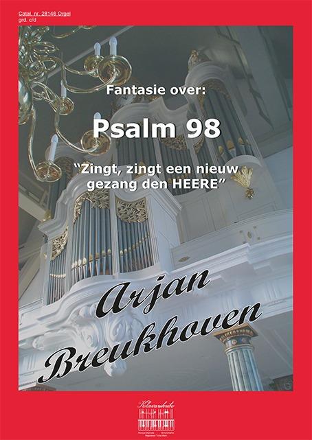 Arjan Breukhoven | Fantasie over Psalm 98 - klavar