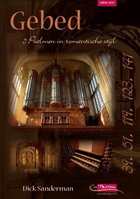 Dick Sanderman | Gebed I | 5 Psalmen in romantische stijl - noten