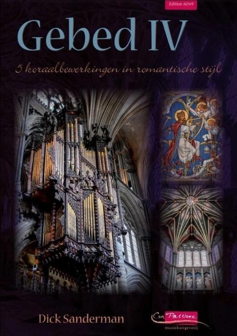 Dick Sanderman | Gebed IIII - 5 psalmen in romantische stijl - klavar