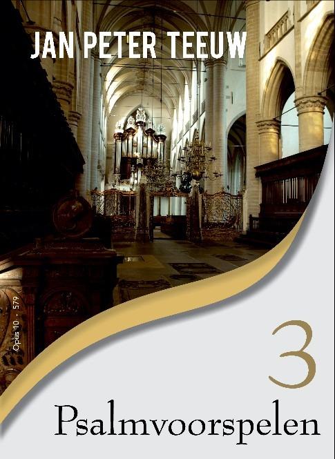 Jan Peter Teeuw | Psalmvoorspelen 3 - noten