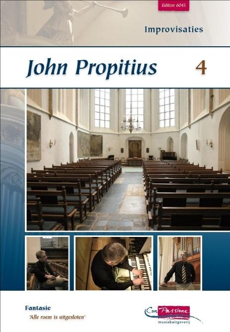John Propitius | Improvisaties deel 4 - noten
