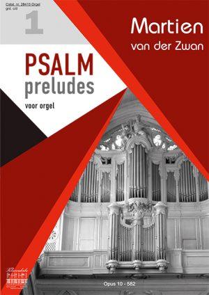Martien van der Zwan | Psalmpreludes voor orgel 1 - klavar
