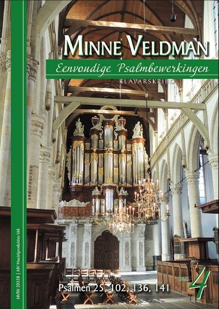 Minne Veldman | Eenvoudige Psalmbewerkingen 4 - klavar