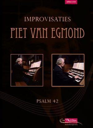 Piet van Egmond | Improvisaties (Psalm 42) - noten