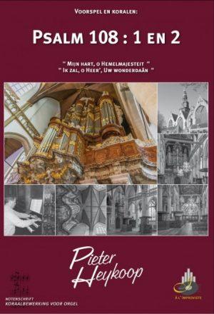 Pieter Heykoop | Psalm 108 vers 1 en 2 - noten