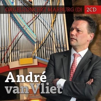 André van Vliet | Orgelconcert Marburg (2CD)