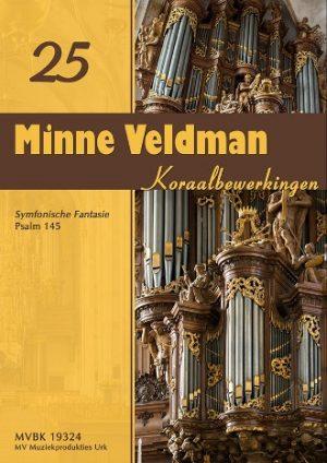 Minne Veldman   Koraalbewerkingen 25 - noten