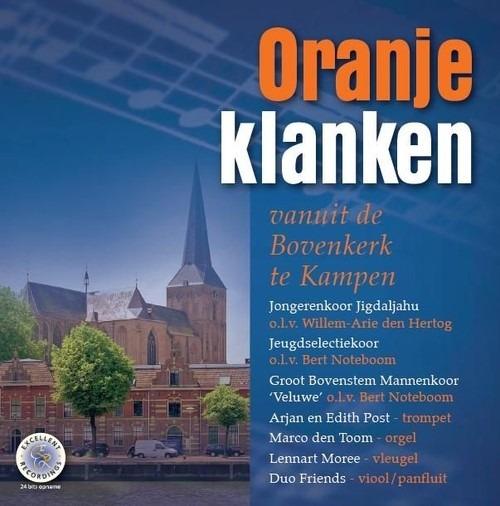 Oranjeklanken | vanuit de Bovenkerk te Kampen