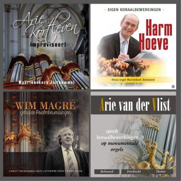 Orgelpakket - 1 | 4 CD's voor € 39,95