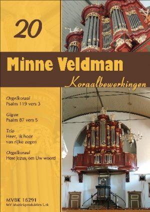 Minne Veldman | Koraalbewerkingen deel 20 - noten