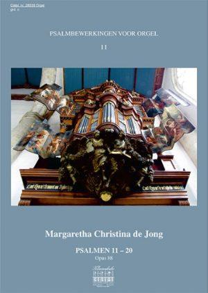 Margaretha Christina de Jong Psalmbewerkingen voor orgel (deel 2) - klavar