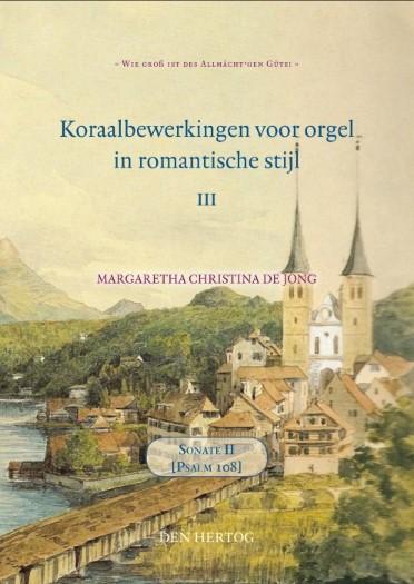 Margaretha Christina de Jong | Sonate over Psalm 108 - klavar