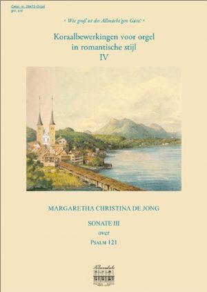 Margaretha Christina de Jong | Sonate over Psalm 121 - klavar