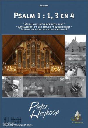 Pieter Heykoop | Psalm 1 vers 1, 3 en 4 - klavar