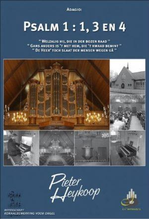 Pieter Heykoop | Psalm 1 vers 1, 3 en 4 - noten