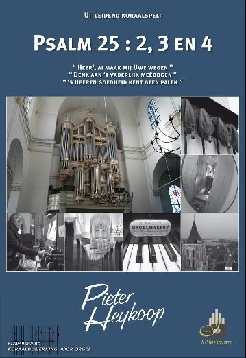 Pieter Heykoop | Psalm 25 vers 2, 3 en 4 - klavar