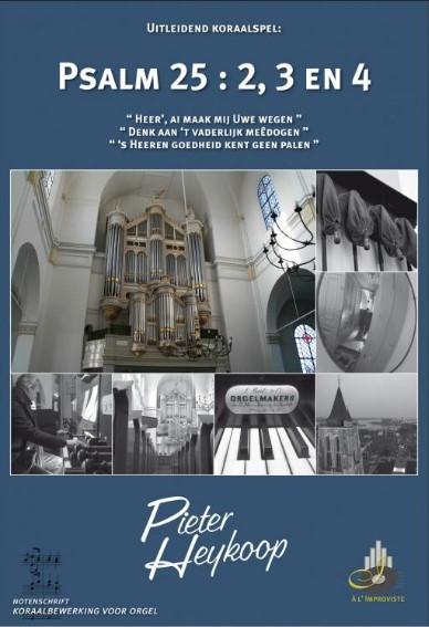 Pieter Heykoop   Psalm 25 vers 2, 3 en 4 - noten