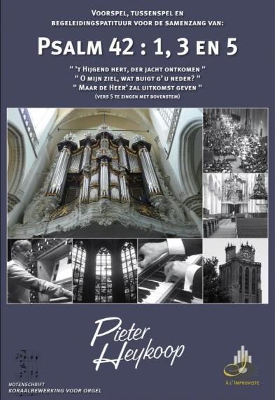 Pieter Heykoop | Psalm 42 vers 1, 3 en 5 - noten
