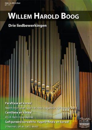 Willem Harold Boog Drie liedbewerkingen - klavar