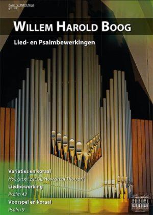 Willem Harold Boog Lied- en Psalmbewerkingen - klavar