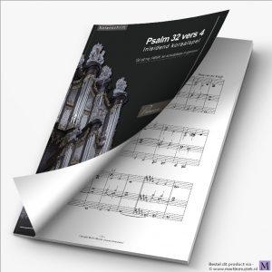 Download | Huig van der Knijff | Psalm 32 vers 4 - noten