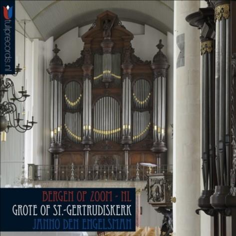 Janno den Engelsman   Grote of St. Gertrudiskerk te Bergen op Zoom