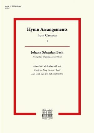 Lennart Morée | Hymn Arrangements from Cantatas (deel 1) - klavar