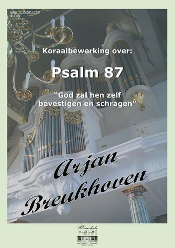 Arjan Breukhoven | Koraalbewerking over Psalm 87 - klavar