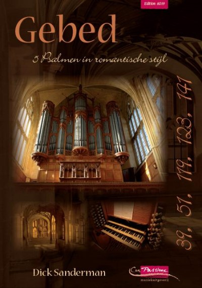 Dick Sanderman Gebed I 5 Psalmen in romantische stijl - klavar