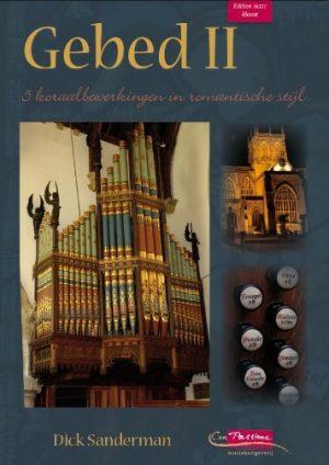 Dick Sanderman Gebeden II 5 psalmen in romantische stijl - klavar