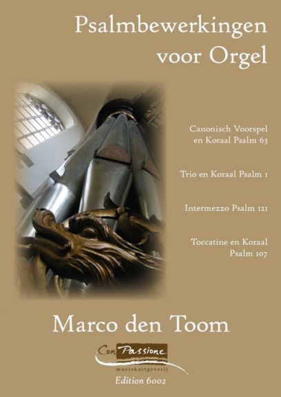Marco den Toom | Psalmbewerkingen voor orgel deel 1- klavar