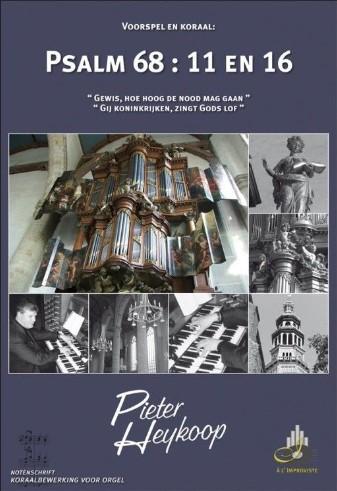 Pieter Heykoop Psalm 68 vers 11 en 16 - klavar