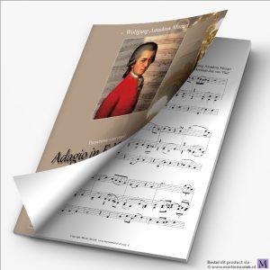 Download   W.A. Mozart   Adagio in F KV580a (transcriptie voor orgel) - noten