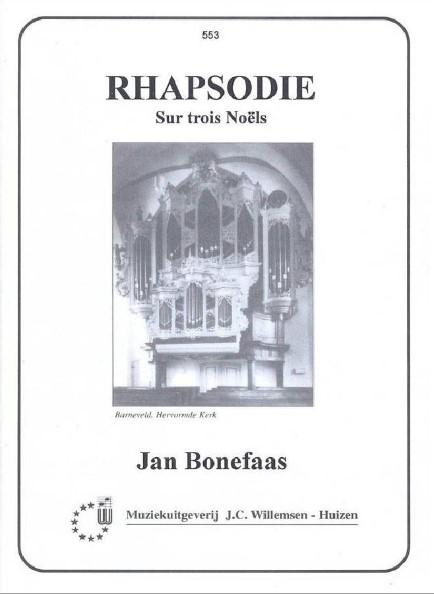 Jan Bonefaas | Rhapsodie Sur trois Noels - noten