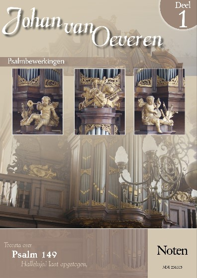 Johan van Oeveren   Psalmbewerkingen (deel 1) - noten