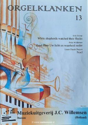 Claude Daquin, Wildeman en Zwiep | Orgelklanken (deel 13) - noten