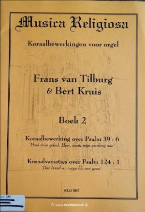 Frans van Tilburg en Bert Kruis | Musica Religiosa (boek 2) - noten